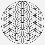 The Flower of Life (click image for links to further images).