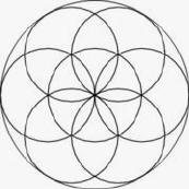 The Seed of Life (a component of the Flower of Life)