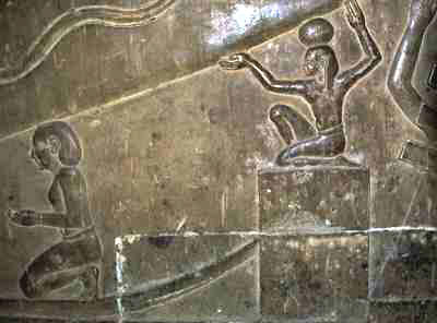 Soot on Dendera-Relief