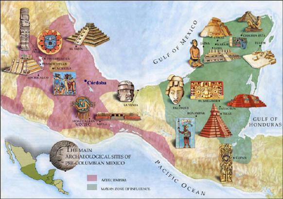 Mayan Ruins Map Image Gallery HCPR